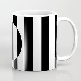 Op Art Striped Circle Coffee Mug