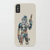 trooper iPhone & iPod Cases featuring modern trooper by bri.buckley