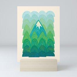 Towering Mountain Mini Art Print