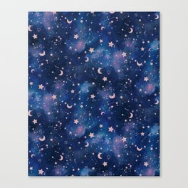 Zodiac - Watercolor Canvas Print