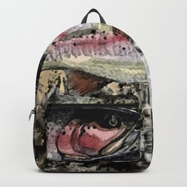 Three Rainbows in a Cloud Backpack