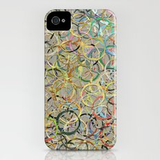 Rainbow Circles Collage iPhone (4, 4s) Slim Case