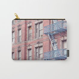 Greenwich Village Balconies - New York Architecture Photography Carry-All Pouch