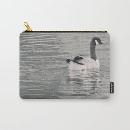Goose on the lake Carry-All Pouch