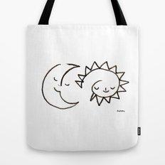 moom and snuh Tote Bag