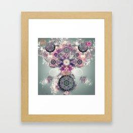 Insectoid Bloom Framed Art Print
