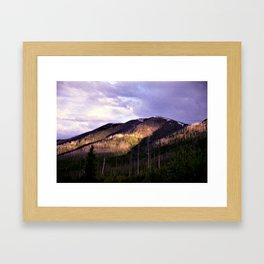 Near Polebridge, Montana Framed Art Print