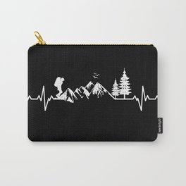 My Heart Beats For Nature Carry-All Pouch