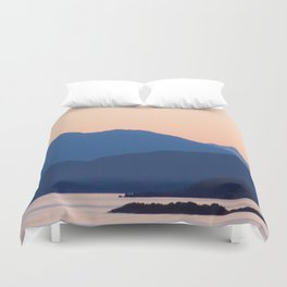 Cool Mountains & Warm Skys Duvet Cover