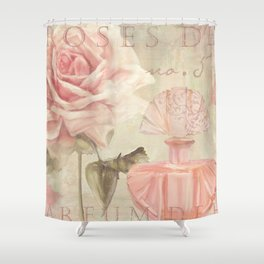Perfume and Roses I Shower Curtain