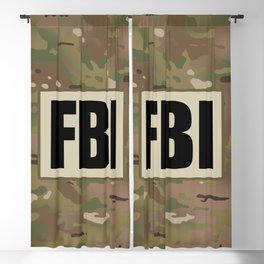 FBI Blackout Curtain
