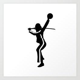 #TheJumpmanSeries, The Bride from Kill Bill Art Print