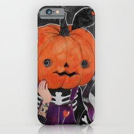 GOSH! I'M A PUMPKIN! iPhone Case