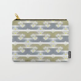 Mix of formal and modern with anemones and stripes 1 Carry-All Pouch