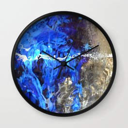 Flowing River Wall Clock