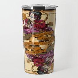 'Caterpillar' (Alice in Steampunk Series) Travel Mug