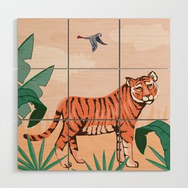 Easy Tiger Wood Wall Art