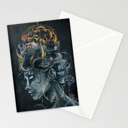 Dream in a Cage Stationery Cards