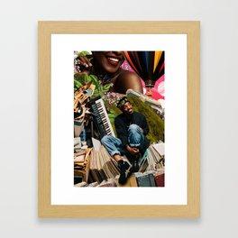 'Andre Opened The Gates' Framed Art Print