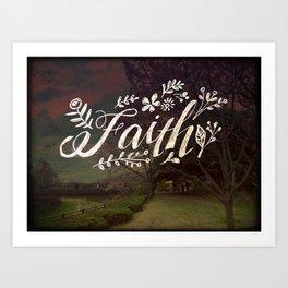 Faith Meadow Art Print