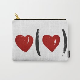 I Carry Your Heart with Me (I Carry It in My Heart) Carry-All Pouch
