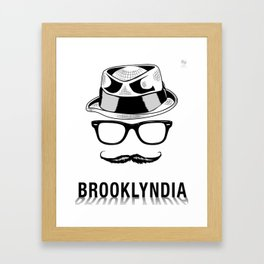 Brooklyndia Framed Art Print