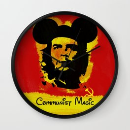 Communist Magic Wall Clock
