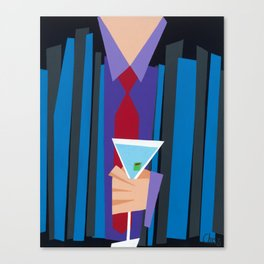 Suite and Tie Canvas Print