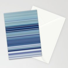 blue morning Stationery Cards