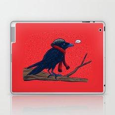 Annoyed IL Birds: The Crow Laptop & iPad Skin