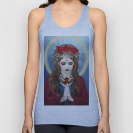 Ave Maria Unisex Tank Top