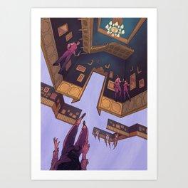 Glitch_11 Art Print