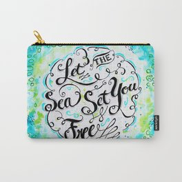Let the Sea Set You Free by Jan Marvin Carry-All Pouch
