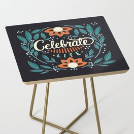 Celebrate Life Side Table