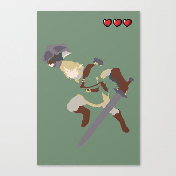 The Legend of Zelda - Link Canvas Print