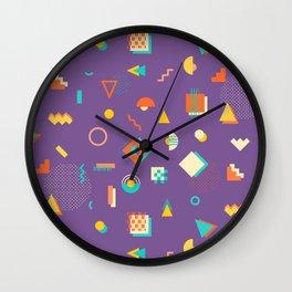 Japanese Patterns 13p Wall Clock