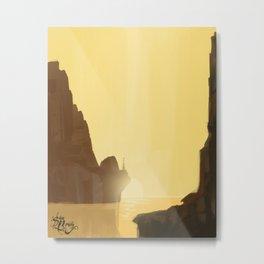 Sunset minialist Metal Print