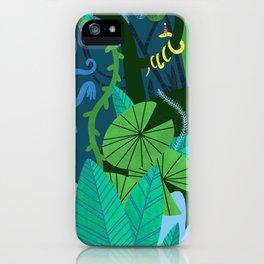 Jungle Monkey Birthday Party iPhone Case