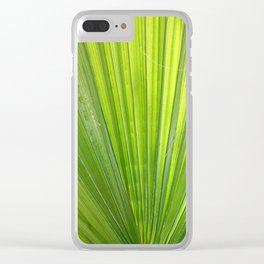 Fan of Nature Clear iPhone Case