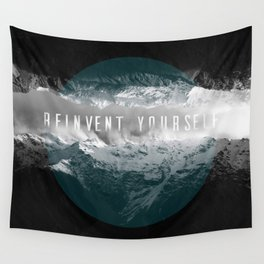 REINVENT YOURSELF Wall Tapestry
