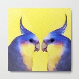 Winnie Bird Metal Print