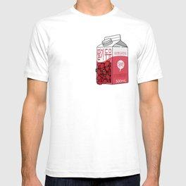 Strawberry Soy Mylk pocket-sized T-shirt