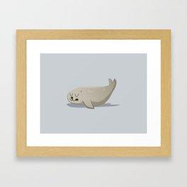 Foca Framed Art Print