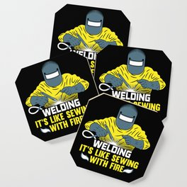Welding: It's like Sewing with Fire Coaster