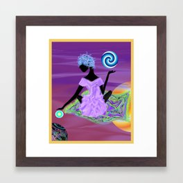 kneed love Framed Art Print