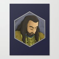thorin Canvas Prints featuring Thorin by DodoRiv