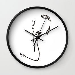 minimal makeout Wall Clock