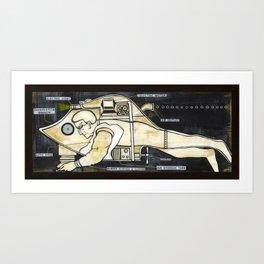 Scuba Tech Art Print