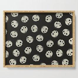 Skull Pattern (BLACK) Serving Tray