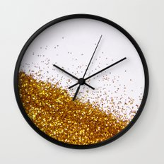 My Favorite Color II (NOT REAL GLITTER) Wall Clock